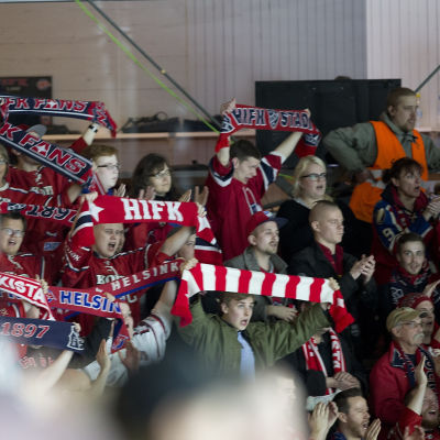 HIFK:s supportrar