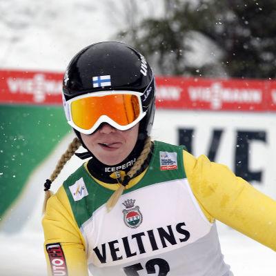 Julia Kykkänen, Lahtis, mars 2015.