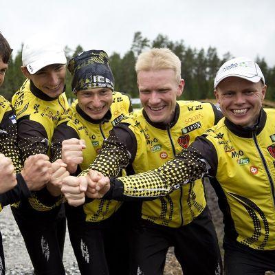 Topi Anjala, Lauri Sild, Timo Sild, Jani Myllärinen, Jani Lakanen, Olexandr Kratov, Daniel Hubmann