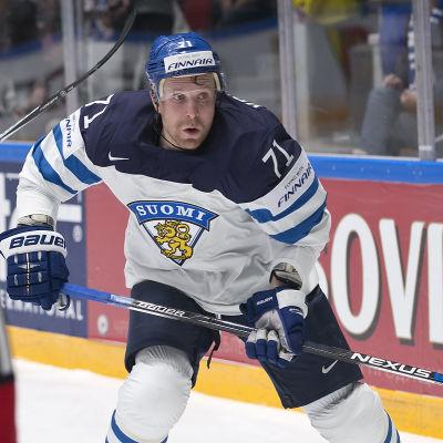 Leo Komarov var strålande när Finland slog Tyskland,