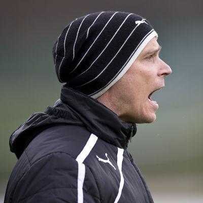 VPS-tränaren Petri Vuorinen fick se sitt lag besegrat.