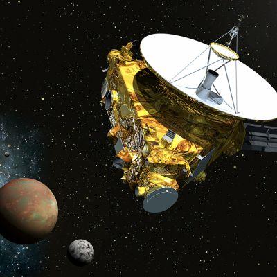 New Horizons -luotain.