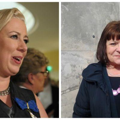 Kollage av Jutta Urpilainen och Maria Tolppanen.