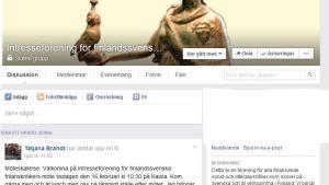 Gruppens facebooksida