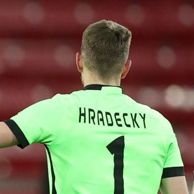 Bayer Leverkusen jublar efter seger över Hoffenheim.
