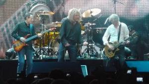 Led Zeppelin keikalla vuonna 2007.