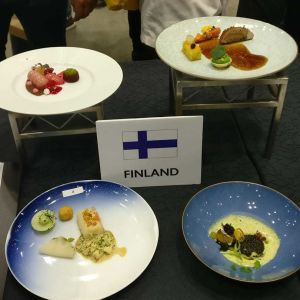 Finlands meny i Global Chef's challenge-tävlingen.