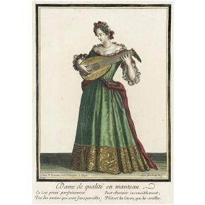 Ranskalaisen naisten muodin tärkein uutuus 1600-luvulla oli kevyen takkimainen, hihallinen manteau, joka osittain peitti näyttävän aluspuvun. Bleiserin kaunis edelläkävijä.