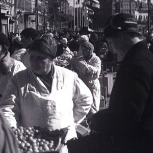 Torimyyjiä kauppatorilla vuonna 1933.