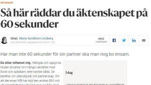 En text ur en kolumn av Maria Sundblom-Lindberg.