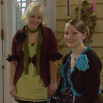 Nya kläder av gamla med Elin och Lee.