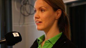 Fysioterapeut Stina Vesterlund
