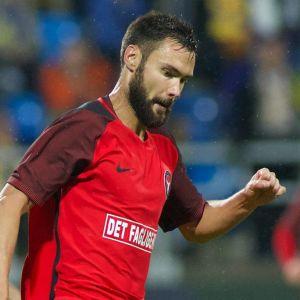 Tim Sparv i FC Midtjylland, 2017.