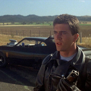 Mel Gibson elokuvassa Mad Max