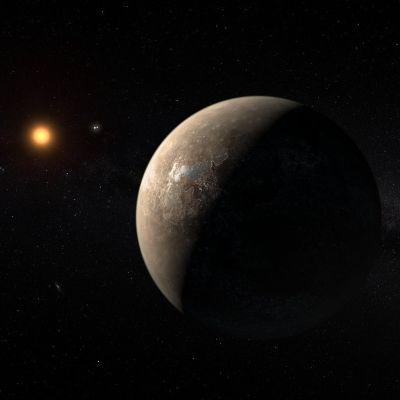 Kuva eksoplaneetasta.