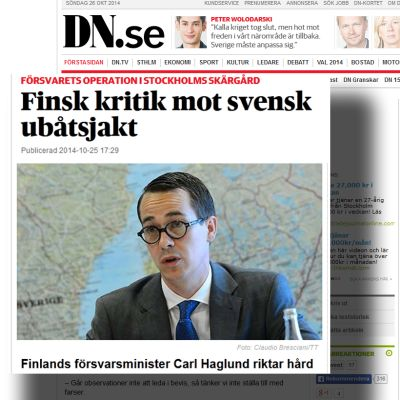 Kuvakaappaus DN.se sivulta.