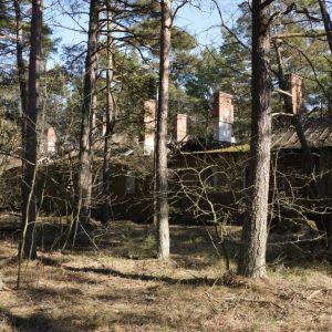 Jan Kailas bilder från det tyska militärlägret på Tulludden i Hangö 1942-1944