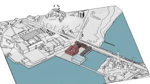 Ritning av ett energilaboratorium
