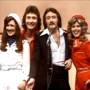 Brittiska Brotherhood of man vann Eurovisionen år 1976.