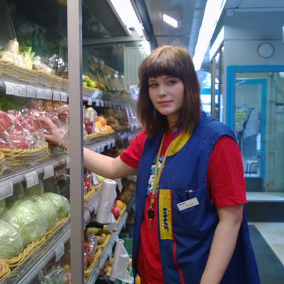 Naomi Matthes jobbar i Siwa
