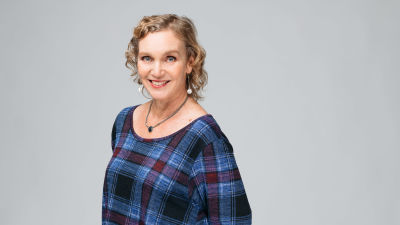 Porträtt av Monica Vikström-Jokela