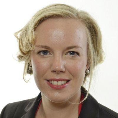 Ruotsin vasemmistopuolueen kansanedustaja Linda Snecker.