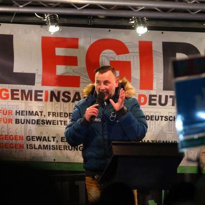 Lutz Bachmann maaliskuussa 2016 Leipzigissa.