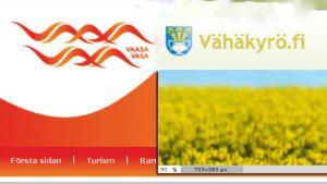 Vasa och Lillkyro slås samman 1.1.2013
