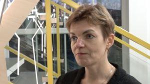 Piia Pääso, direktör på Polli trädgårdsforskningscenter