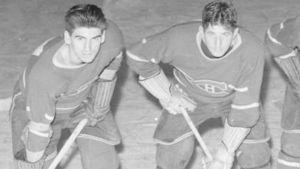 Maurice Richard Elmer Lach och Tony Demers