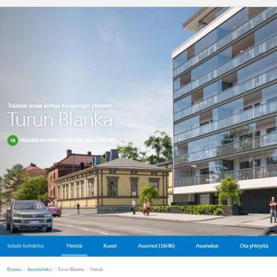 Arkitektens vision av Turun Blanka.