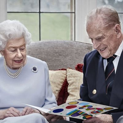 Drottning Elizabeth II och Prins Philip.