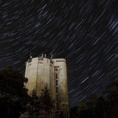 Star Trails. Får användas endast i samband med artikel om Sällskapet Natura