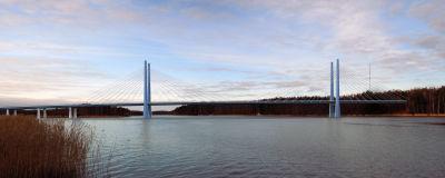 Den nya Rävsundsbron