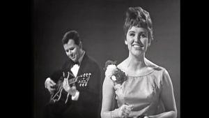 Danska Grethe och Jørgen Ingmann vann Eurovisionen år 1963.