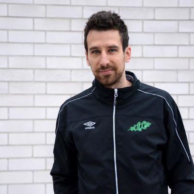 Tamás Gruborovics i Sportmåndag 15.2.2016.