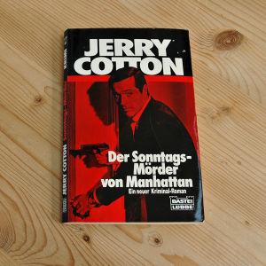 Jerry Cotton -kirjan kansi
