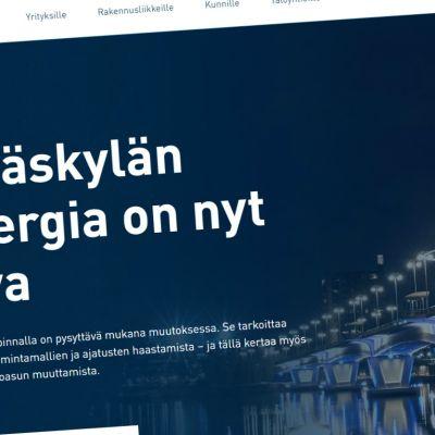 Kuvakaappaus Alvan verkkosivuilta.