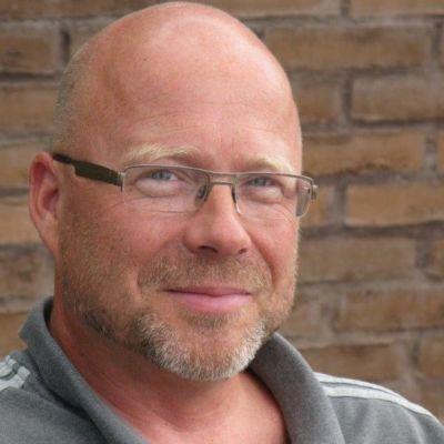 porträttbild av Kaj-Mikael Wredlund från Kyrkans utlandshjälp