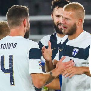 Finland efter seger.
