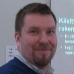 Mikko Saarinen, Ekokems chef för avfallsbehandling