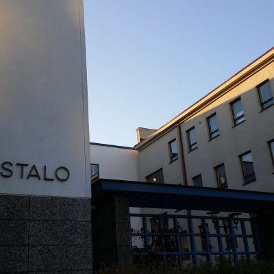 Oikeustalo Jyväskylässä.