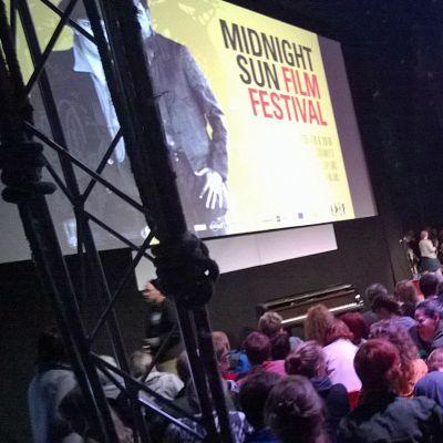 Sodankylän elokuvajuhlat 2016 iso teltta