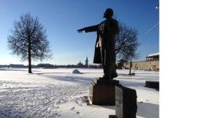 Estlands sista Leninstaty.