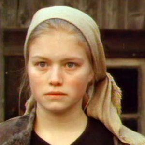 Britta (Ulrika Hansson) och Ontrej (Johan Portin),1991