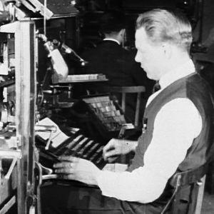 Helsingin Sanomat 1920-luvulla. Lehdentekoa.