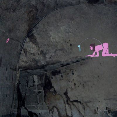 Adel Abidin, Psyché, 2008, kaksikanavainen videoinstallaatio