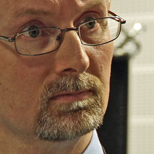 Bitr fängelsedirektör Jan Stromnes, Halden, Norge