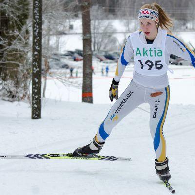 IK Trissans Josefina Sundman var tvåa i sin åldersklass i FSSM.