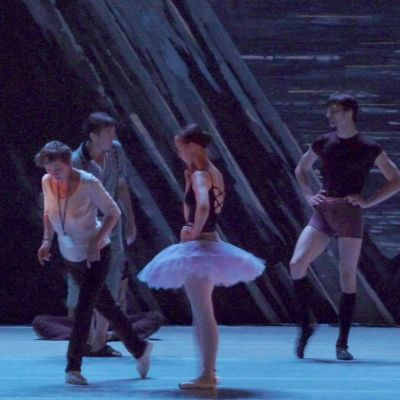 Savonlinnan Balettijuhlat 2010 Joutsenlampi harjoitukset